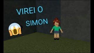 ROBLOX-I TURNED the SIMON (Saimon Says)