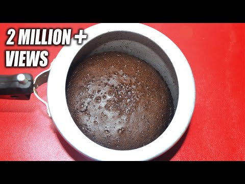 Chocolate Cake In Pressure Cooker - Easy Cooker Cake Recipe Without Oven - Sponge Cake Recipe