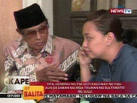 KB: Panayam kay Sec. Gen Abraham Id Jirani, Sultanate of Sulu (Feb. 22, 2013)