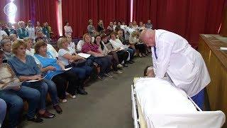Для сотрудников Облбольницы провели урок экстренной медицинской помощи