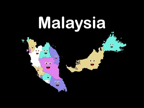 Malaysia States, Capitals and Federal Territories/ Malaysia for Kids