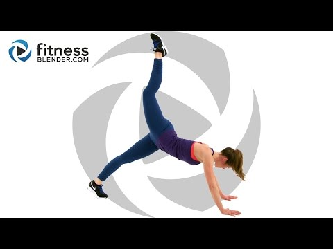 No Equipment Butt and Thigh Workout + Fat Burning Cardio Intervals