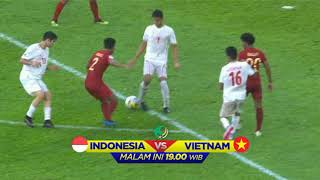 Indonesia VS Vietnam | AFC U-16 Championship 2018 Malaysia, Malam Ini Pkl 19.00 WIB