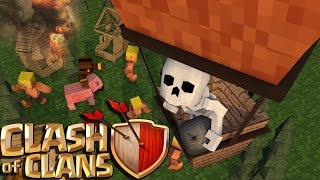 "Minecraft | Clash of Clans Nations 2.0 - Ep 8! ""RAIDING HUGE BASES"""