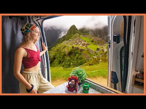 A Day In Our Van Life | CHEAP WAY to Machu Picchu!!