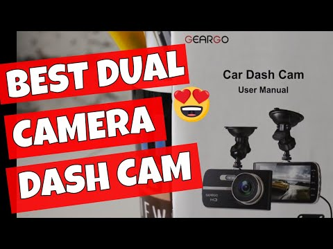 Best Dual Camera Dash Cam On A Budget Geargo Dashcam H11