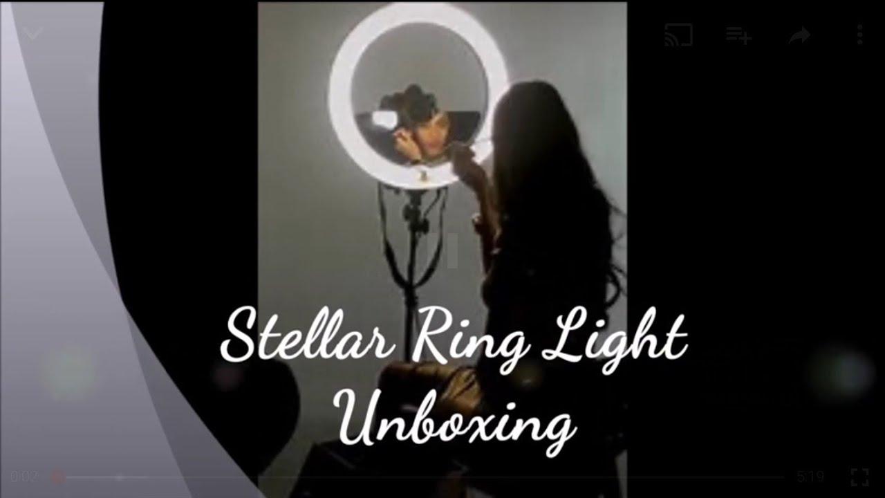 Stellar Led Diva Ll Ring Light: Stellar Diva Ring Light Unboxing