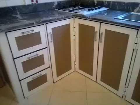 cuisine en aluminium 6 youtube. Black Bedroom Furniture Sets. Home Design Ideas