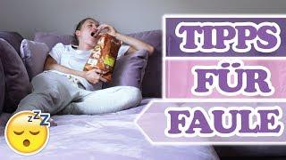Die BESTEN Tipps für Faule !!!  HACKS die du kennen solltest um Zeit zu sparen