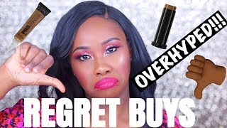 OVERHYPED BEAUTY PRODUCTS I REGRET BUYING!!!