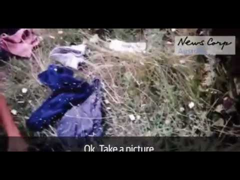 Боинг MH17: уникальное видео(первые минуты после падения)
