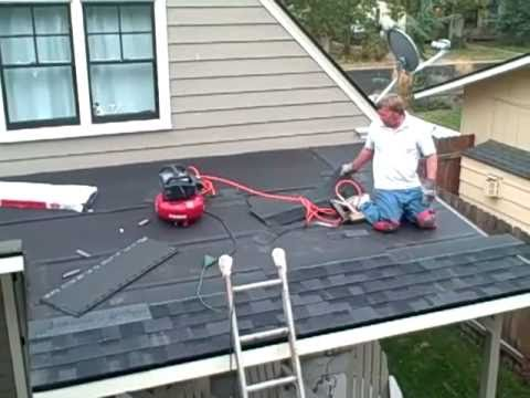 Patio Cover Phase 2 Shingles Youtube