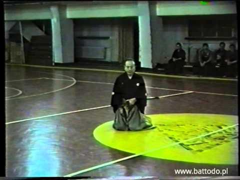 Hanshi Chihiro Kishimoto 8th Dan Iaido | Legendary Budo Masters