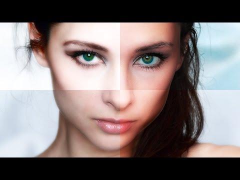 "Photoshop Tutorial: How to Make Glamorous, ""Fashion Magazine"", Skin Glow Effects"