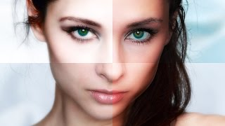 "Photoshop Tutorial: How to Make Glamorous, ""Fashion Magazine"", Skin Glow Effects"