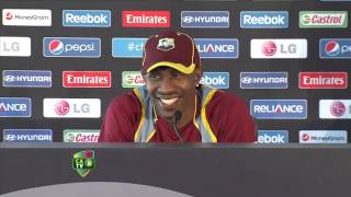 Dwayne Bravo press conference - May 29th