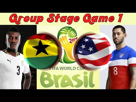 TTB 2014 FIFA World Cup Brazil  Ghana Vs USA  Group Stage Game 1  Ep1