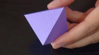 Piramit Nasıl Yapılır - Teknoloji ve Tasarım - Detaylı ve Basit Anlatım - How to make pyramid