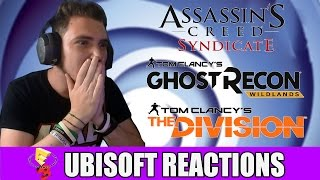 my reactions to ubisoft conf ac syndicate the division ghost recon wildlands e3 2015