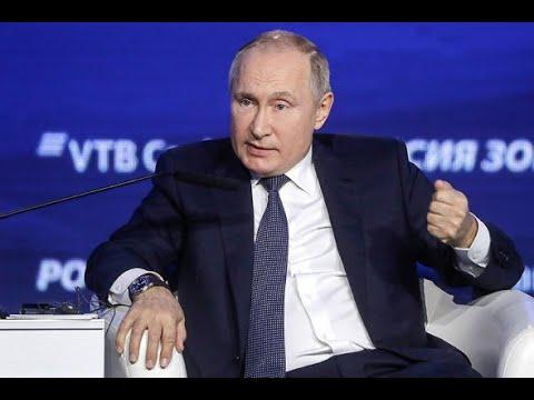 Владимир Путин про отношения с Зеленским. Путин назвал президента Украины симпатичным человеком.