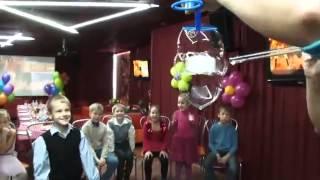 Шоу мыльных пузырей на день рождения ребенка