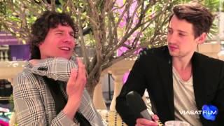 Viasat Film på filmfestivalen i Cannes - Intervju med Håkan Hellström och Adam Lundgren