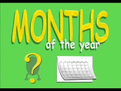 Learning Months Of The Year Song - Nursery Rhymes Lyrics and