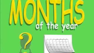 A Kid's Song - Months of the Year