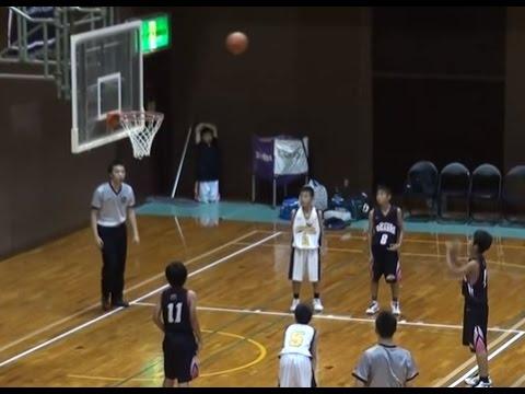 Buzzer Beater【ミニバスのブザービーター】 福岡市ミニバスケットボール夏季交歓大会決勝 百道SSvs和白東