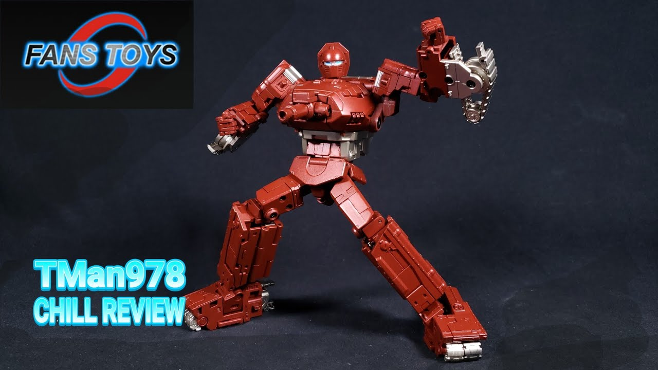 Fans Toys FT-41 Sheridan 3rd Party Warpath CHILL REVIEW By TMan978