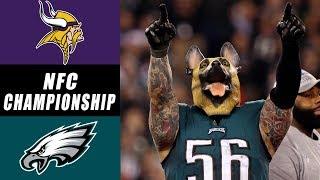 Philadelphia Eagles Crush Minnesota Vikings 38-7 in NFC Championship