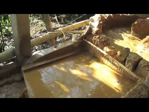 A Rastra Gold Processing Plant In Santo Domingo, Nicaragua