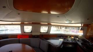 Yachtcharter Malta Catamaran Belize 43 In Grand Harbour Marina.mp4