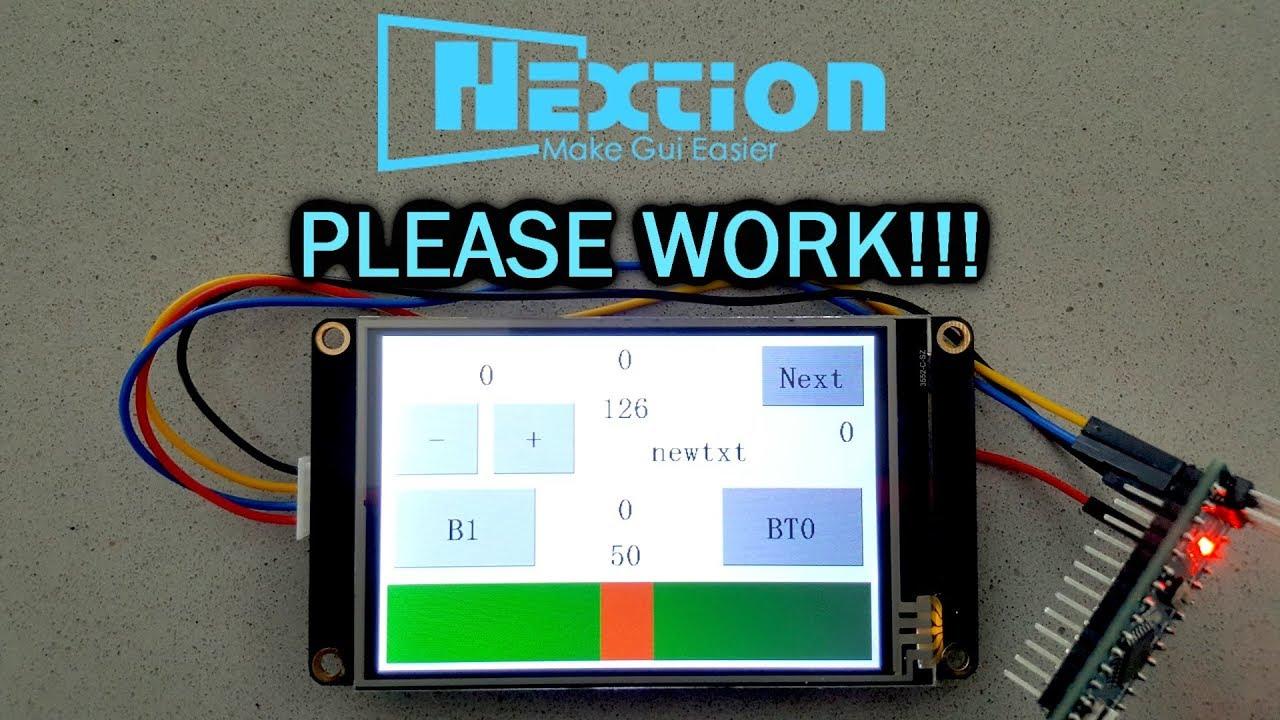 Nextion+Arduino Tutorial #5 Troubleshooting
