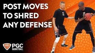 Post Moves To Shred Any Defense | Skills Training | PGC Basketball