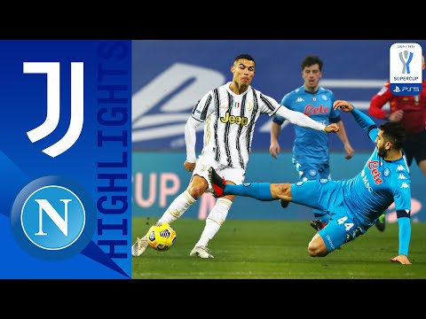 Juventus 2-0 Napoli | Juventus Triumph in the Supercup for the 9th Time! | PS5 Supercup 2021