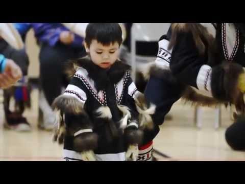 Inuvialuit Drumming Dancing