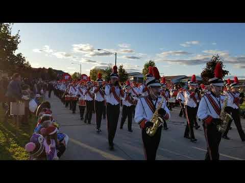 Kimberly High School Band Homecoming Parade 2019