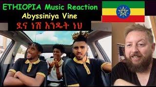 Ethiopia Music Reaction: Abyssiniya Vine - Dena Nesh Endet Neh | ደና ነሽ እንዴት ነህ