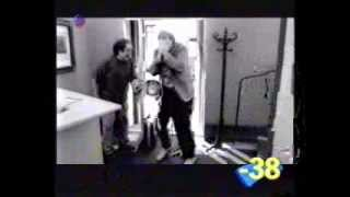 LMFAO Guy Walks Straight Into Glass Door