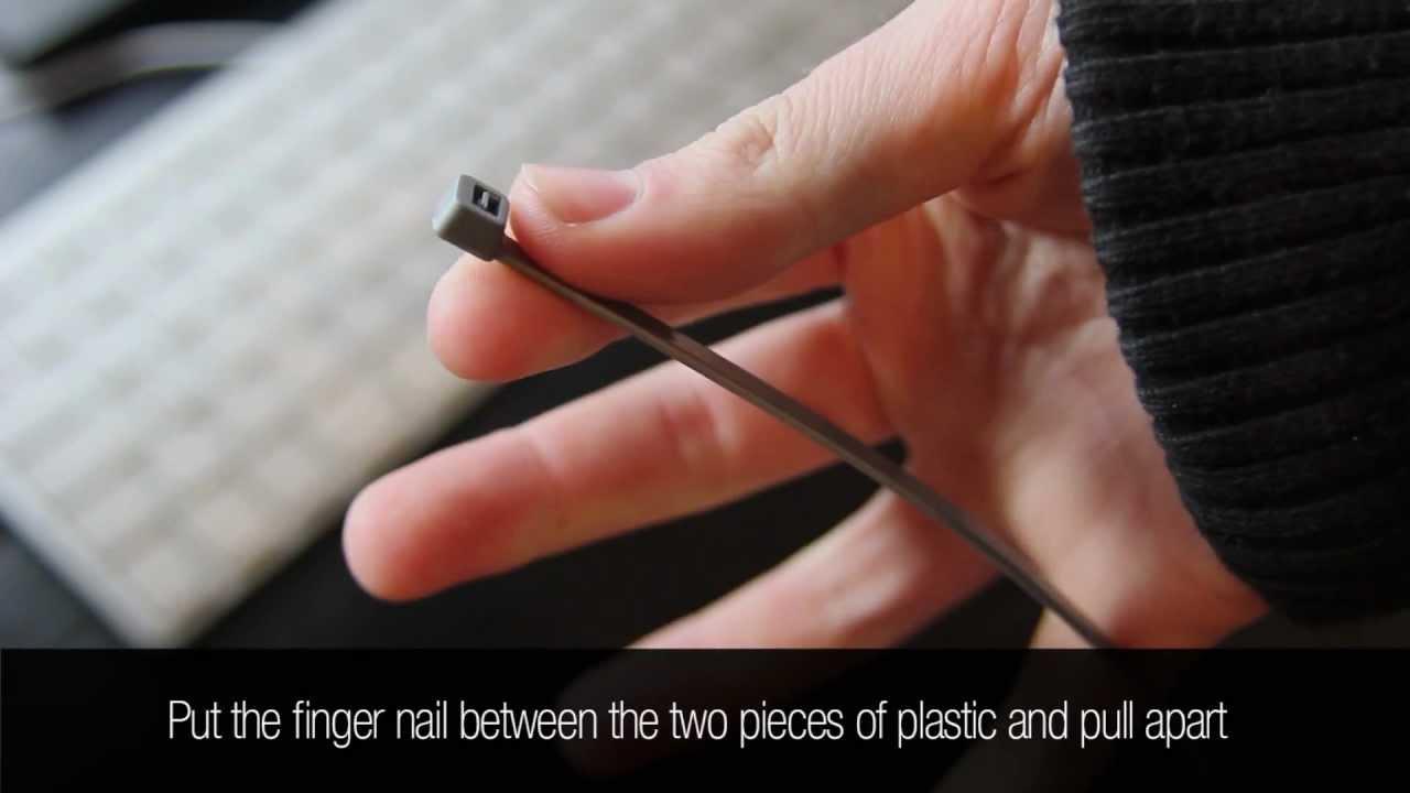 wiring harnes zip ty [ 1280 x 720 Pixel ]