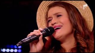 """Indila - """"Dernière danse"""". Vezi aici cum cântă Izabela Simion, la X Factor!"""
