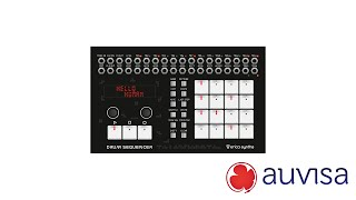 Review Erica Synth Drum Sequencer Auvisa