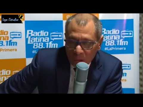 """Jorge Glas """"Si hay constituyente Rafael Correa encabezara la lista de candidatos"""""""