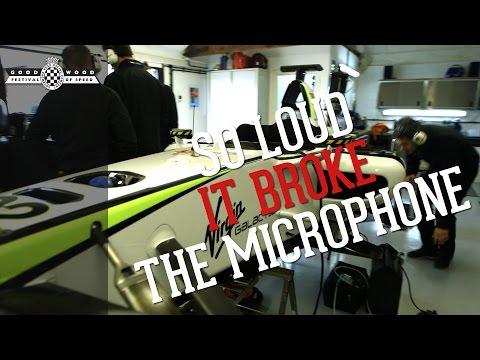 Brawn GP is back: So loud it broke the microphone