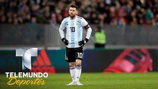 Crece incertidumbre sobre la forma de Messi en el Mundial   Copa Mundial FIFA Rusia 2018   Telemundo