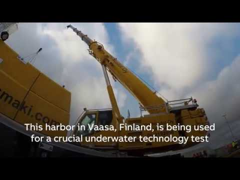 ABB subsea variable speed drive successfully tested under water
