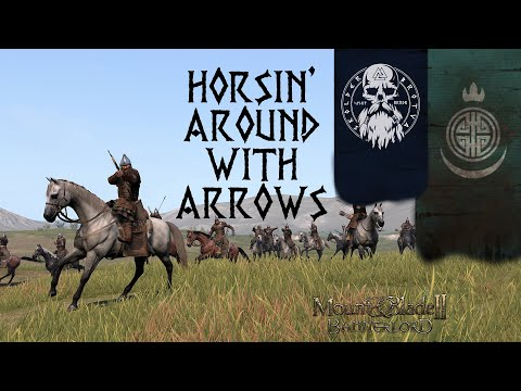 Horse Archer Reach Around | Mount & Blade 2 Bannerlord - Beta Captain Mode Full Team