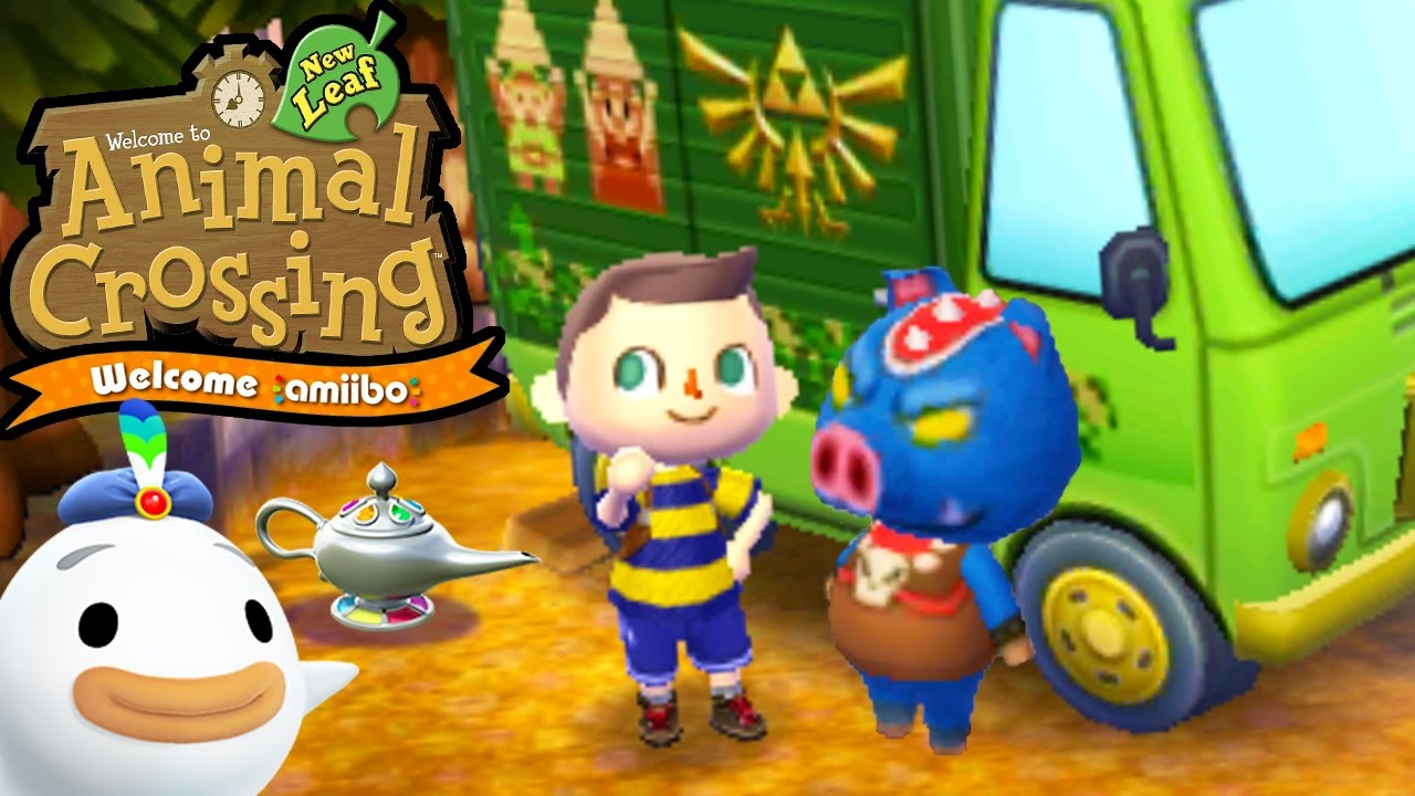 Amiibo Crossing Animal Crossing New Leaf Welcome Amiibo Update New Features Wisp 3ds Gameplay Walkthrough