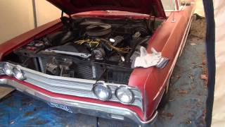 Start Up The Old 69 Ford Galaxie.